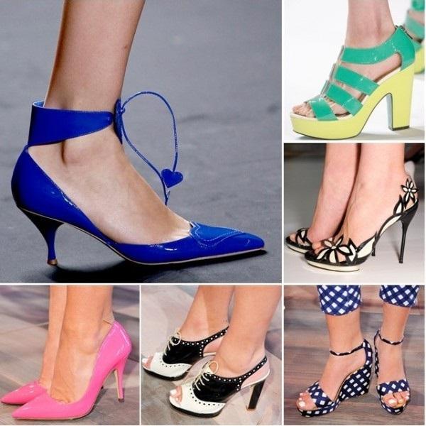 Açık ayakkabı modası