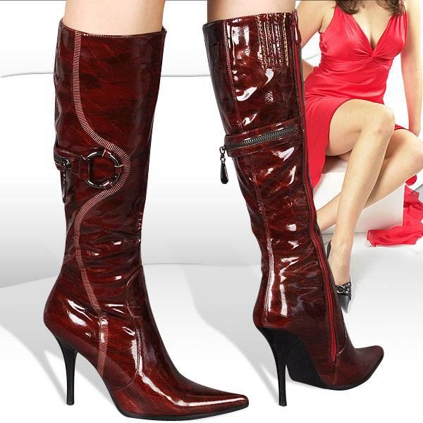 Büyük Numara Bayan Çizme Modelleri