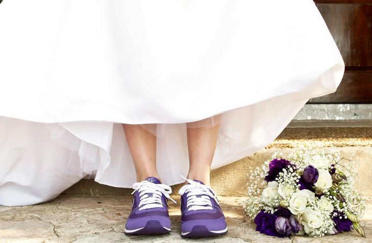 Gelinliklere Uygun Renkli Ayakkabılar