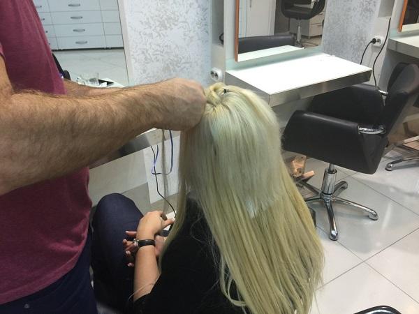görünmez saç kaynak modeli