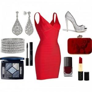 Kırmızı Kıyafet Kombin Modelleri