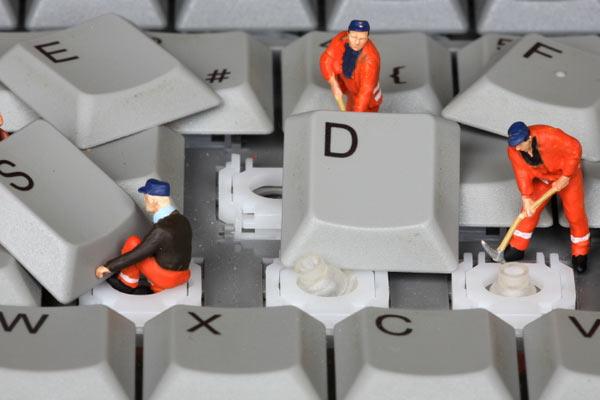 klavye temizliği