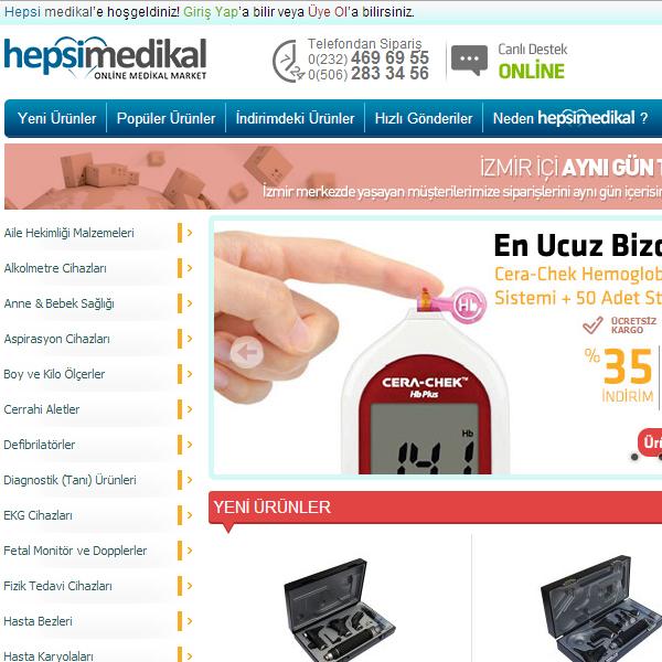 Medical alışveriş sitesi