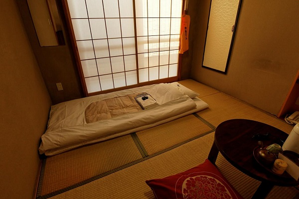 japon yatak odası