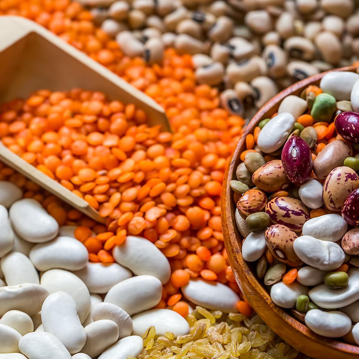 organik bakliyat ürünleri