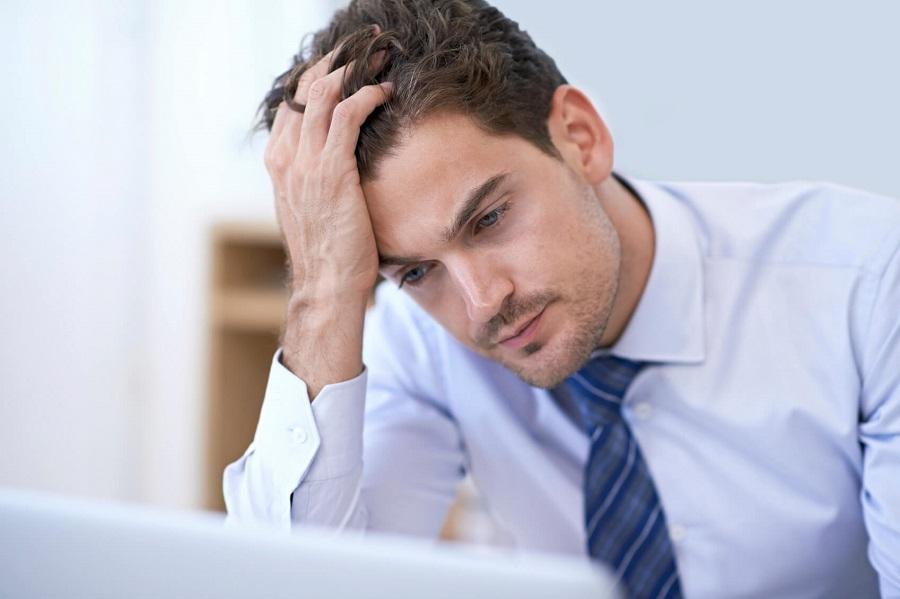 erkekte stres belirtileri