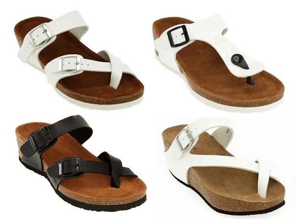 yazlık terlik ve sandalet modelleri
